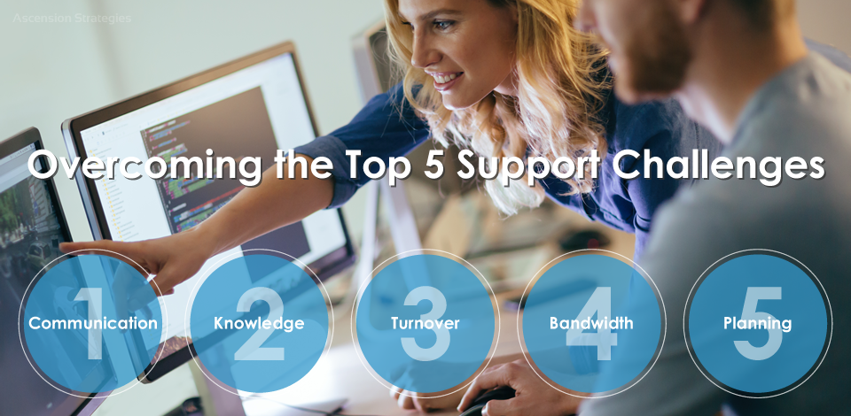 Overcoming the Top 5 Support Challenges